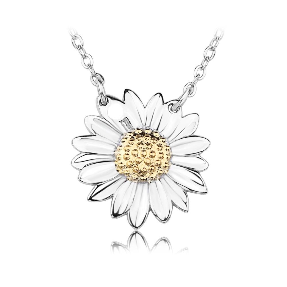 imagem FLOWER - LINDO COLAR DE PRATA 925S