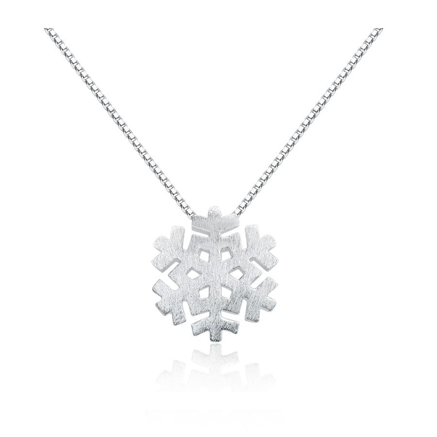 imagem SNOW - ELEGANTE COLAR DE PRATA 925S
