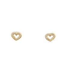 imagem IN LOVE 2 - BRINCO FOLHEADO Á OURO 18K